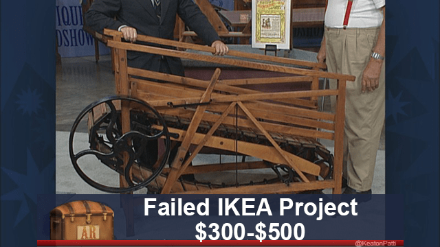 funny caption - Wood - IOUI DSHOW Failed IKEA Project $300-$500 AR @KeatonPatti