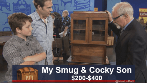 funny caption - News - WATCH My Smug & Cocky Son $200-$400 AR @KeatonPatti