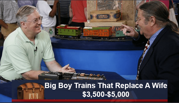funny caption - News - LIONEL LIC Big Boy Trains That Replace A Wife $3,500-$5,000 AR