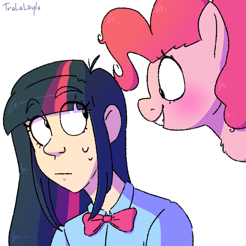 humanized twilight sparkle pinkie pie tralalayla - 9128551680