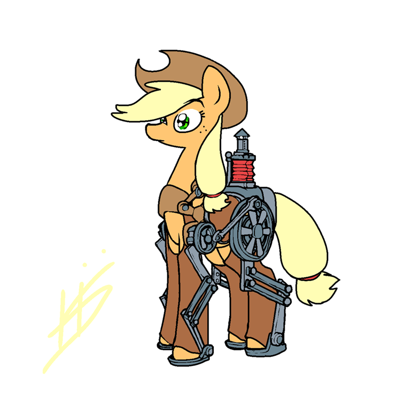applejack pencil brony - 9128708864