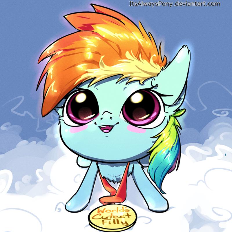 its always pony rainbow dash - 9128710656
