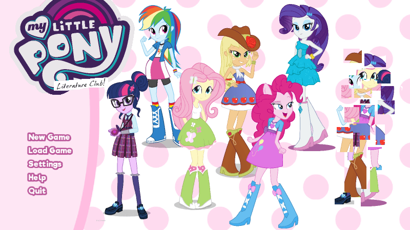 forgotten friendship applejack equestria girls scitwi twilight sparkle doki doki literature club pinkie pie wallflower blush rarity ponify sunset shimmer fluttershy rainbow dash - 9128738304