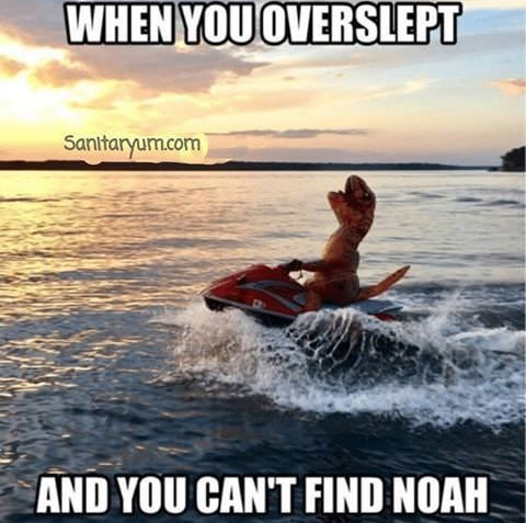 Wakesurfing - WHEN YOU OVERSLEPT Sanitaryum.com AND YOU CAN'T FIND NOAH