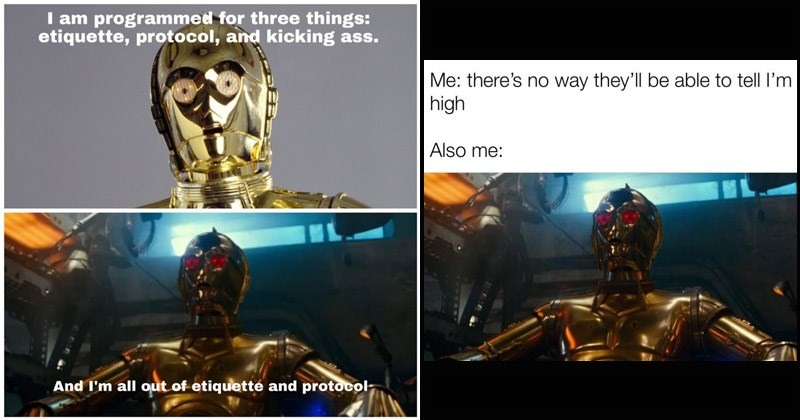 Funny Twitter memes about 'Red-Eyed C-3PO' in the upcoming Star Wars film