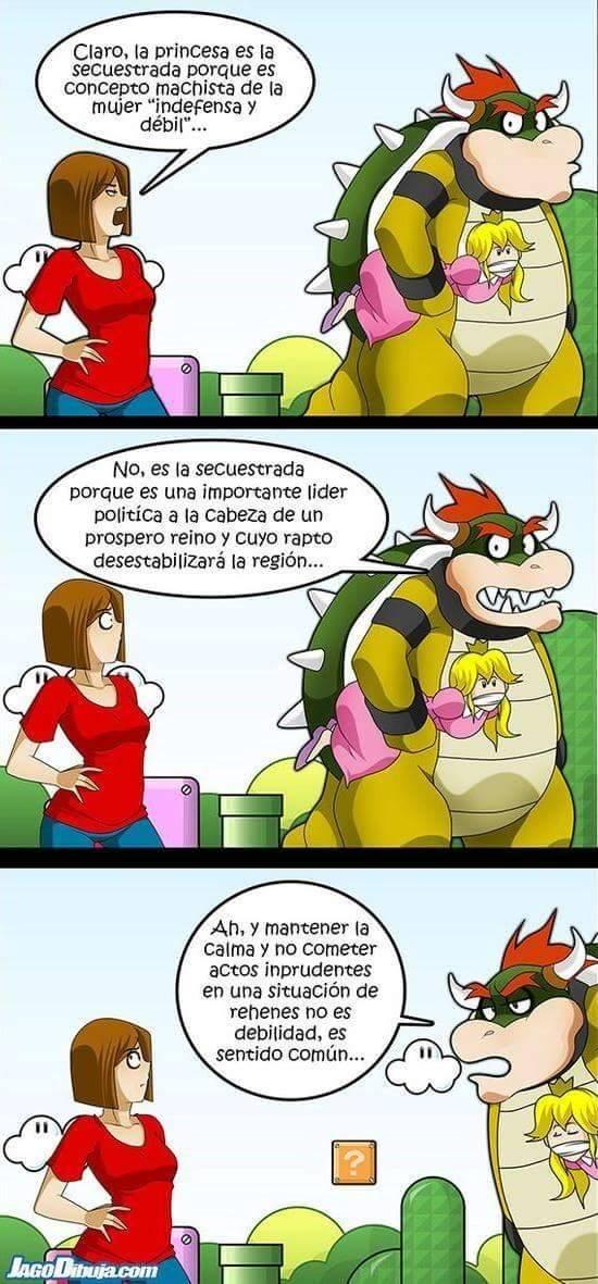 feminismo en los juegos de video jagodibuja