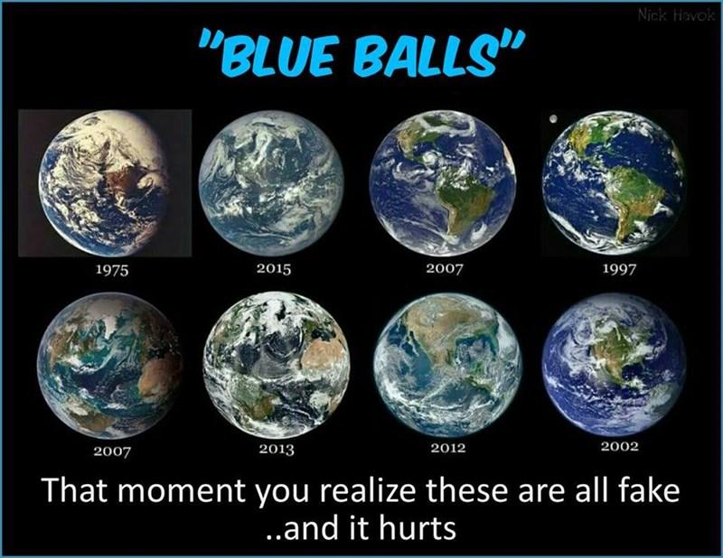 meme blue balls earth