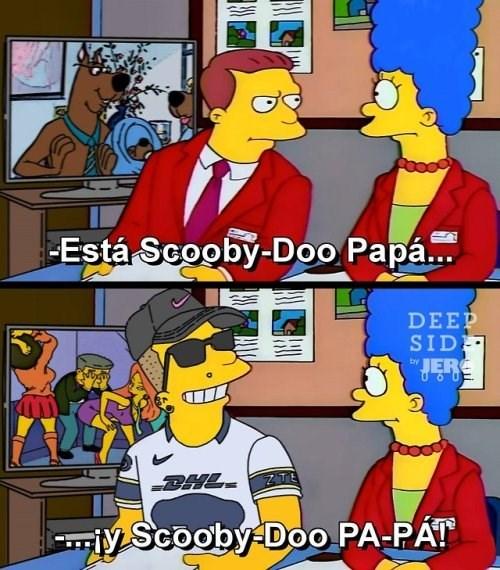 esta Scooby Doo y scooby doo papa