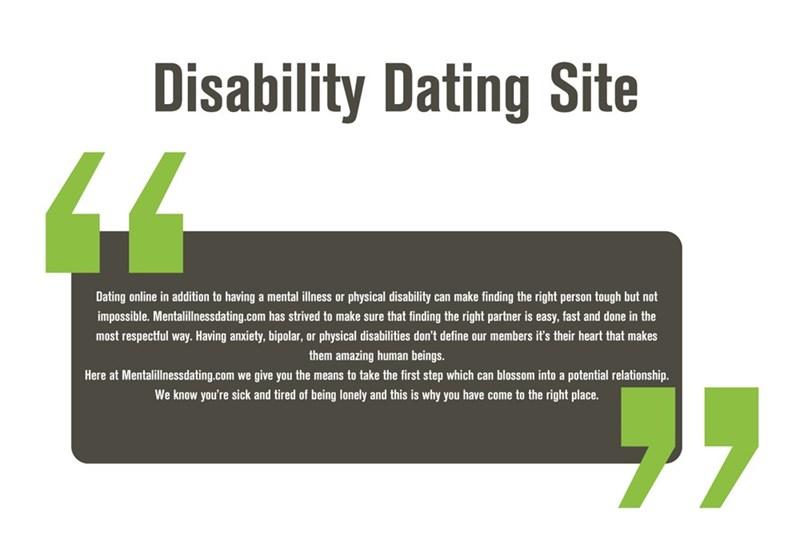 mental illness dating site