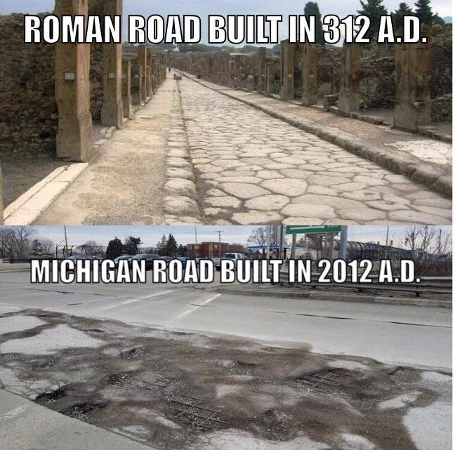 Funny meme about infrastructure.