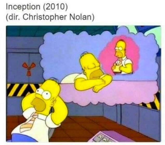 Cartoon - Inception (2010) (dir. Christopher Nolan)