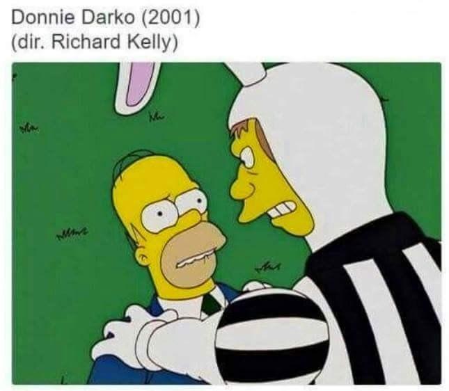 Cartoon - Donnie Darko (2001) (dir. Richard Kelly)