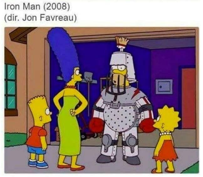 Cartoon - Iron Man (2008) (dir. Jon Favreau)