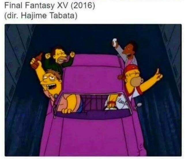 Cartoon - Final Fantasy XV (2016) (dir. Hajime Tabata)