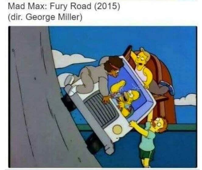 Cartoon - Mad Max: Fury Road (2015) (dir. George Miller)