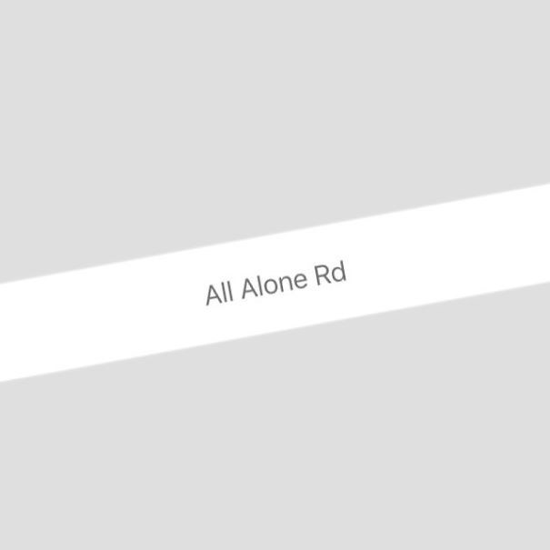 White - All Alone Rd
