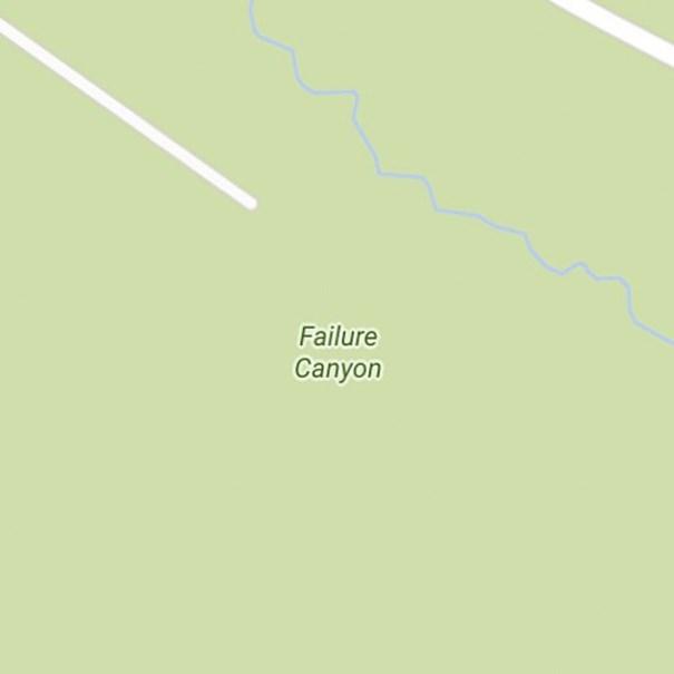 Green - Failure Canyon