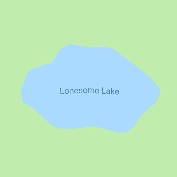 Blue - Lonesome Lake