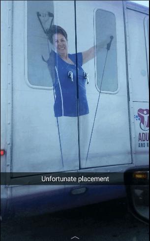 Vehicle door - ADU AND R Unfortunate placement