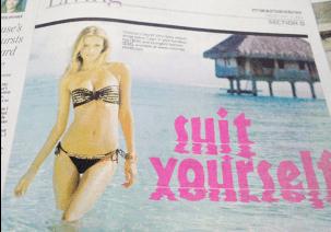 Bikini - se's wsts nd SECTION AU