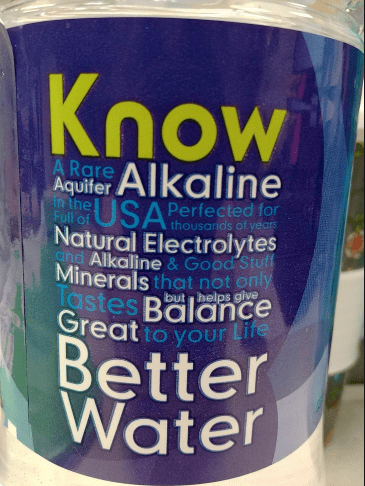 Product - Know Alkaline USA A Rare Aquifer in the Full of Perfected for thousarids of years Natural Electrolytes nd Alkaline & Good Stuff Minerals that not only Tastes Balance Great to your Lite but belps give Better Water
