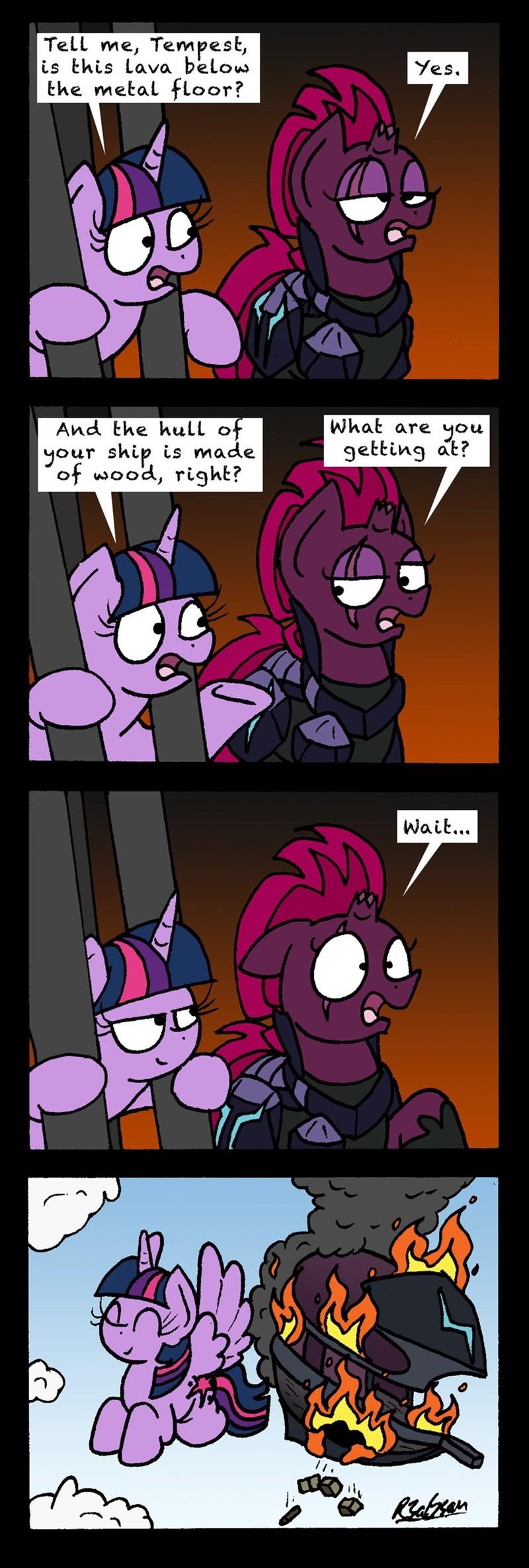 tempest shadow my little pony the movie bob the dalek twilight sparkle comic - 9131660288