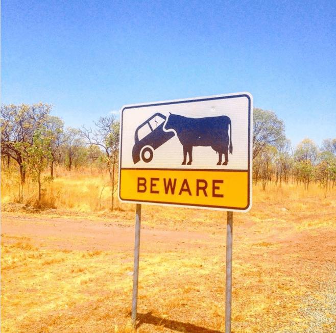 Sign - BEWARE