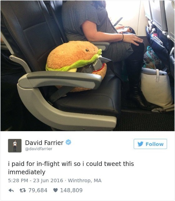 Vehicle door - David Farrier Follow @davidfarrier i paid for in-flight wifi so i could tweet this immediately 5:28 PM 23 Jun 2016 Winthrop, MA 79,684 148,809