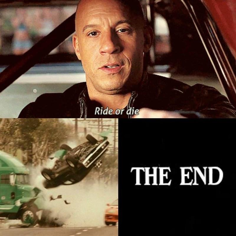 Movie - Ride or die THE END