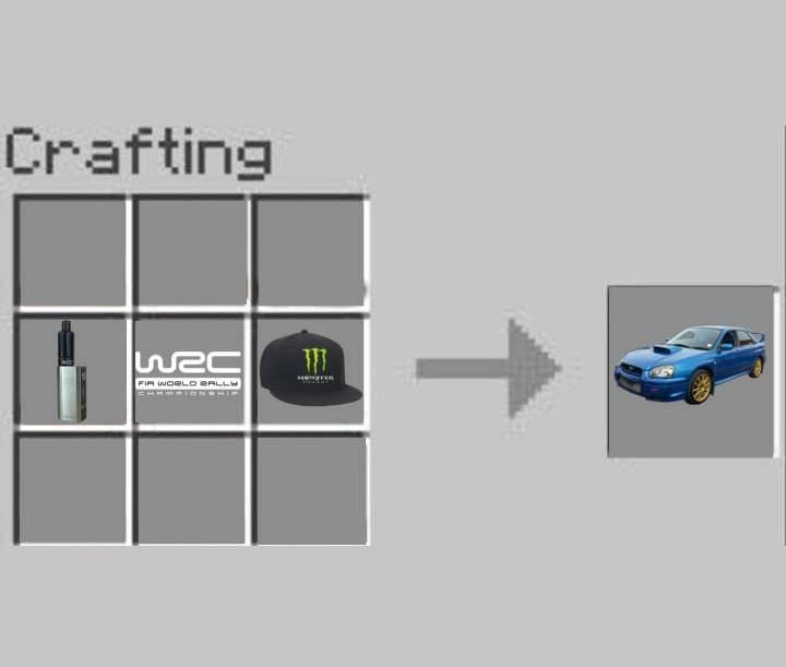 Vehicle - Crafting FIR WORLD aLL