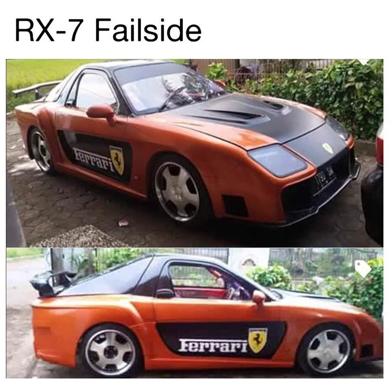 Land vehicle - RX-7 Failside Ferrari
