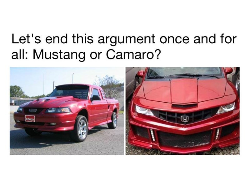 Vehicle - Let's end this argument once and for all: Mustang or Camaro?