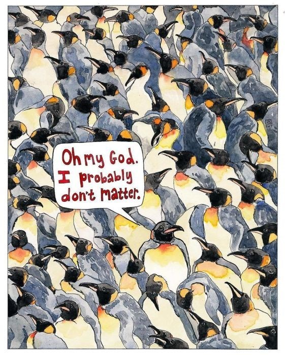 Penguin - Oh my God. I probably dont Matter