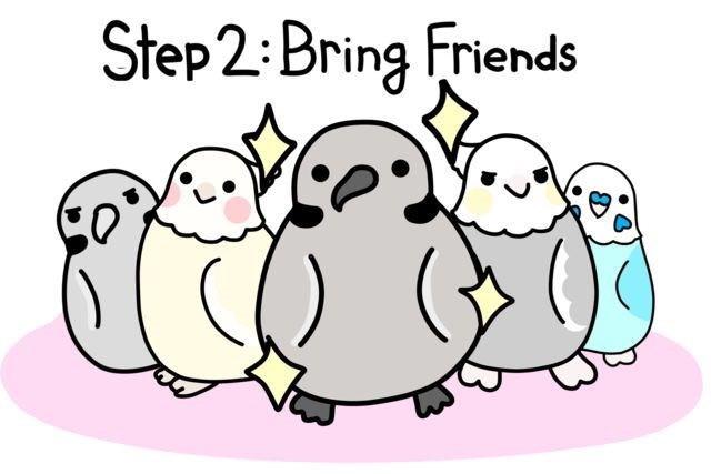 Cartoon - Step 2: Bring Friends