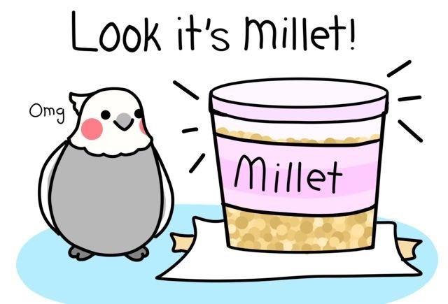 Clip art - Look it's millet! Omg Millet