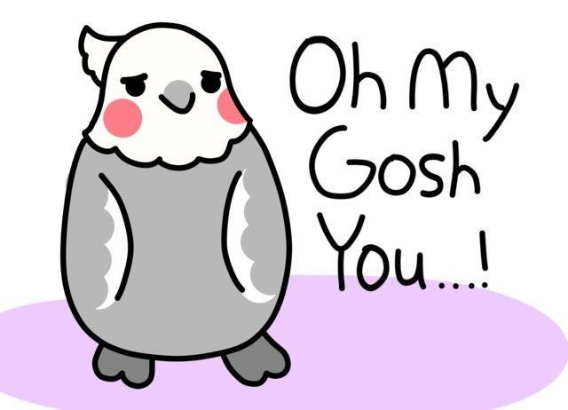 Cartoon - Oh my Gosh You.!