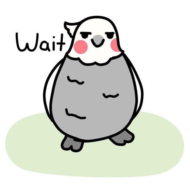 Cartoon - Wait)