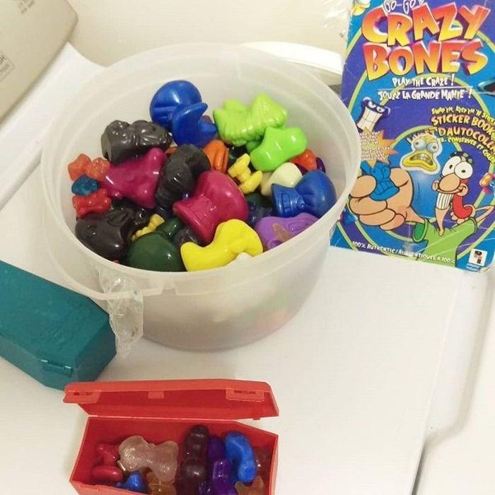nostalgia - Toy - SR EX BONES 00 PLAY THE CRAZE 3OU LA GRANDE MANE! STICKER BOOK DAUTOCO OLL O0% AuTRENTIc/giouri 002