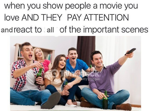 happy meme about sharing something you enjoy with your loved ones