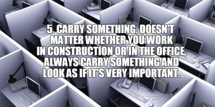 Product - 5 CARRY SOMETHING DOESNT MATTER WHETHER YOUWORK IN CONSTRUCTION ORIN THE OFFICE ALWAYS CARRY SOMETHING AND LOOKAS IFITS VERY IMPORTANT