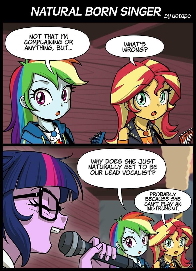 equestria girls twilight sparkle uotapo comic sunset shimmer rainbow dash - 9134570496