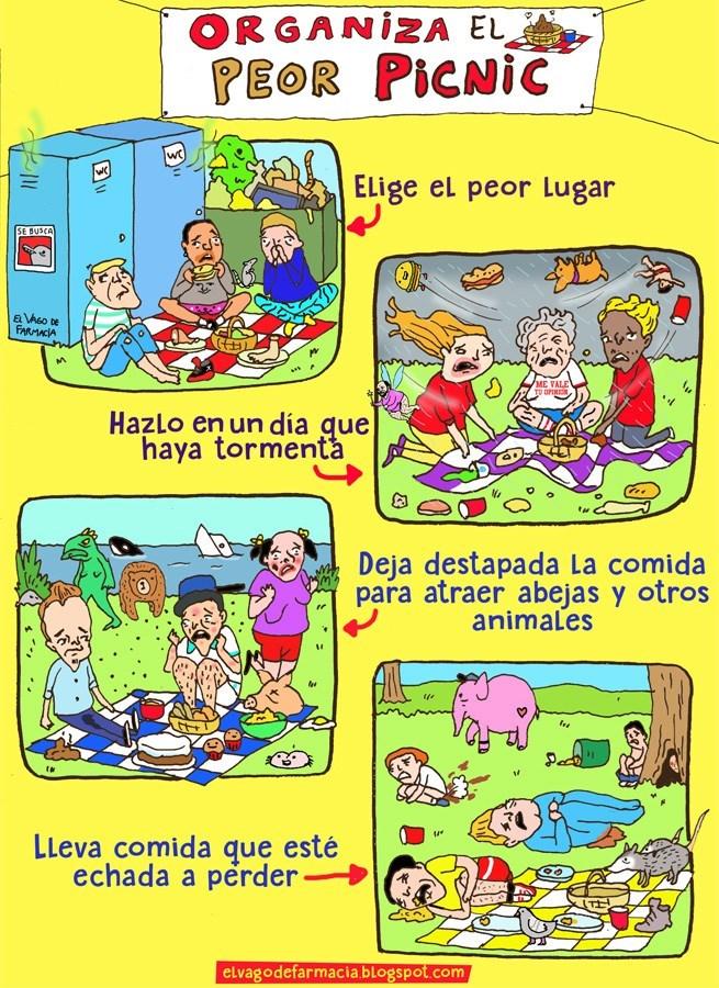 como organizar el peor picnic
