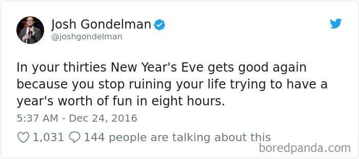 best tweet about partying in your 30s