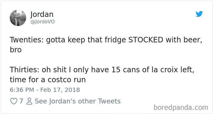 best tweet about what you keep in your fridge as an adult