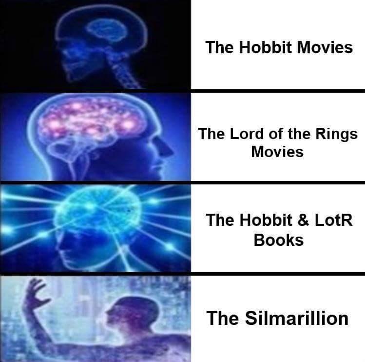 lotr meme - Medical imaging - The Hobbit Movies The Lord of the Rings Movies The Hobbit & LotR Books The Silmarillion