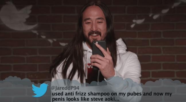 Beard - @JareddP94 used anti frizz shampoo on my pubes and now my penis looks like steve aoki...