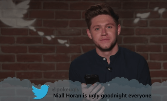 Photograph - @pokeugly Niall Horan is ugly goodnight everyone