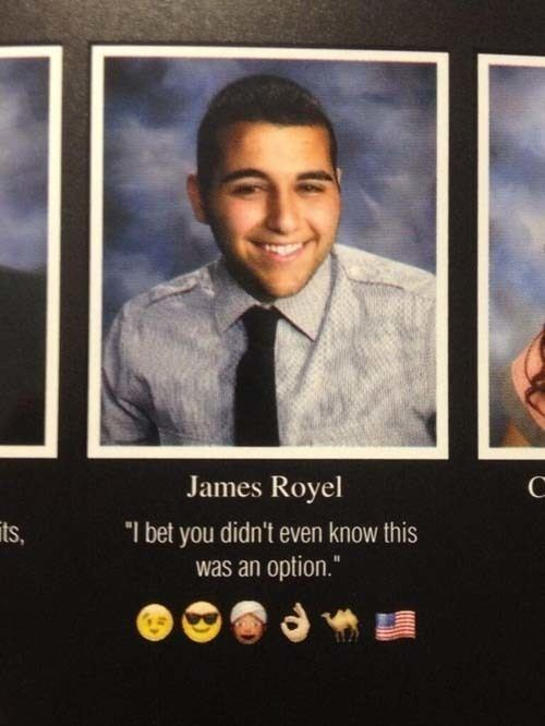 "Poster - James Royel ""I bet you didn't even know this was an option."" its,"
