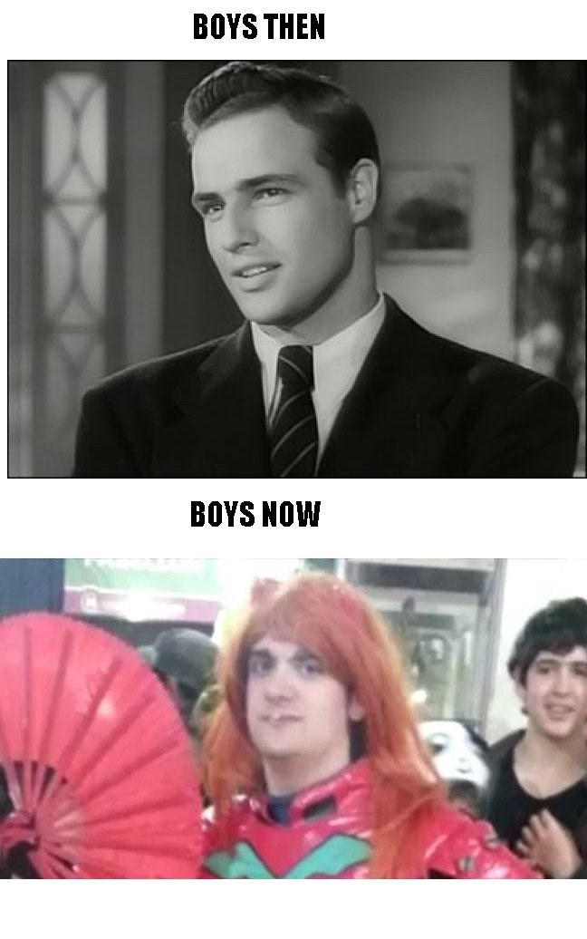 boys then boys now
