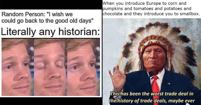 Funny memes about history